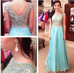 DIYouth Real Long Red Beading Evening Dresses Prom Gowns for Homecoming,beaded prom dresses,beading prom dresses, blue prom dress,open back prom dress backless evening dresses 2015 Homecoming Dresses Long, Prom Dresses 2015, Unique Prom Dresses, Backless Prom Dresses, A Line Prom Dresses, Prom Party Dresses, Pretty Dresses, Beautiful Dresses, Formal Dresses