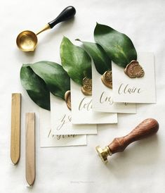55 Likes, 6 Comments – Aubree Kirwan (Flatlay Inspiration · via Custom Scene · Wax seals with greenery. Aubree Kirwan ( onFinally got around to photographing these beauties and I am OBSESSED. Greenery + wax seals is giving my all sorts of romanti Trendy Wedding, Dream Wedding, Wedding Day, Summer Wedding, Wedding Venues, Elegant Wedding, Tuscan Wedding, Wedding Flowers, Wedding Beauty