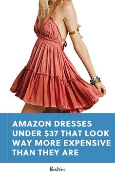 These ten super reasonably priced dresses are all available at (you guessed it) Amazon for less than $40. #amazon #dresses #cheap