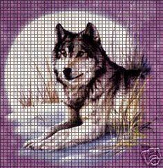Wolf Crochet Pattern