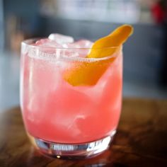 Oooo... Cranberracuda. It's new to the menu made with our Tiki Rum lemon juice spice tincture orange-cran-clove syrup orange bitters orange peel. #foundmyspirit