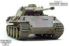 PZ.KPFW.V PANTHER AUSF.D — Каропка.ру — стендовые модели, военная миниатюра