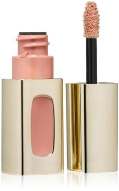 KIM KARDASHIAN'S WEDDING DAY LIPSTICK * not too beige, not too pink L'Oreal Extraordinaire Liquid Lipstick by Color Riche - Nude Ballet 601