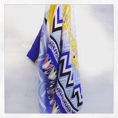 """""""Greece"""" silk scarf by Grecian Chic!"""