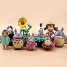 """Figures """"El meu veí Totoro"""" --- Figuras """"Mi vecino Totoro"""""""