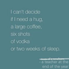 There is no tired like end of the year teacher tired... Unless you ...