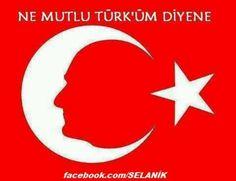 Ne mutlu turkum diyene