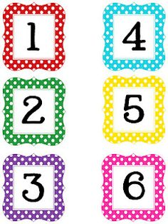 bulletin board numbers/letters