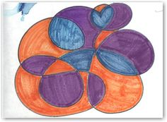 Learn how to turn a scribble into a complete drawing. A great exercise for elementary school kids.