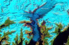 Columbia Glacier Retreat, Alaska   NASA Earth Observatory