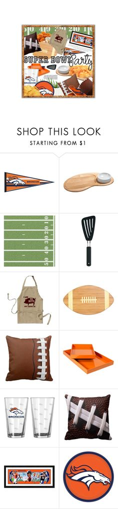 """Game On! Super Bowl Party"" by cultofsharon ❤ liked on Polyvore featuring interior, interiors, interior design, home, home decor, interior decorating, J.K. Adams, OXO, Picnic Time and Forever Collectibles"