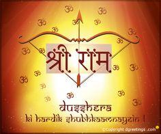 Dgreetings - Dussehra Hindi Card