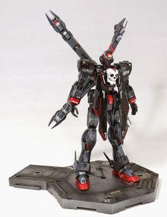 MG 1/100 Crossbone Gundam Full Cloth X Maoh - Custom Build     Modeled by dizaro