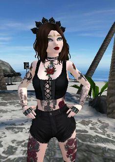 Avakin Life Hack, Life Tumblr, Virtual Girl, Billie Eilish, Imvu, Girl Outfits, Geek Stuff, Kawaii, Punk