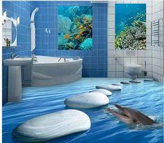 1000 images about pintura magica on pinterest murals for Mural hidupan laut