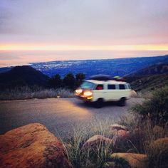 idealuses:    Headed up for some van camping with @fosterhunting (at above santa barbara)    beauty beauty beauty