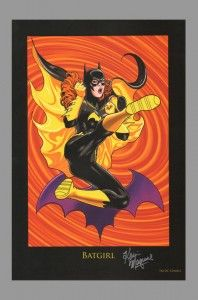 Batgirl print signed by Kevin Maguire. #batman #batgirl #kevinmaguire