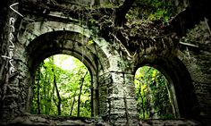 The eyes of Buchanan Castle, Scotland. Buchanan Castle, Clan Buchanan, Beautiful Ruins, The Beautiful Country, Beautiful Places, Scotland Castles, Scottish Castles, England Ireland, England And Scotland