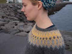 Ysolda Teague's Icelandic sweater yoke