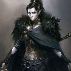 Quafayzi; Dragon Goddess of the Dark; Sister and wife of Quail, mother of the Quad