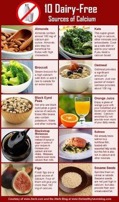 10 Dairy-Free Sources of Calcium 0 Snagged from Junk in the Trunk's Facebook page!