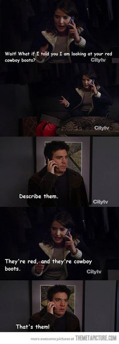 Classic Ted Mosby moment in HIMYM