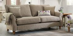 Buy Ashford Large Sofa (3 Seats) Versatile Check Lawson Dove LowTurned-Dark from the Next UK online shop