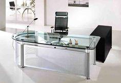 modern glass office desk. Glass Office Table Modern Desk