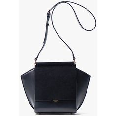 Black Mini Leather and Suede Crossbody Bag ($189) ❤ liked on Polyvore featuring bags, handbags, shoulder bags, black, mini handbags, leather cross body handbags, suede shoulder bag, mini crossbody handbags and crossbody shoulder bag