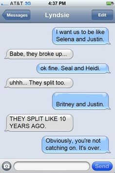 Stupid Girlfriends Alwasy Deserve A Worst Broke Up! - Posted in Funny, Troll comics and LOL Images - LOL FUNS