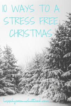 Christmas is just around the corner, which includes Christmas decor, Christmas festivities, Christmas baking, EVERYTHING Christmas. Here are some great tips to help you have a stress free Christmas.