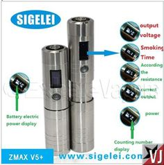 Vapor Joes - Daily Vaping Deals: FUNCTION #9: Sigelei Zmax V5 w/ Cellphone Charger - $49.99