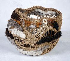 BasketCreative Sculptural Basketweaving - class by Shirley Eichten Albrecht - Phoenix, Arizona April 2010