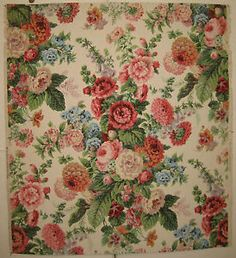 french+floral+wallpaper | Beautiful-Antique-1920s-30s-French-Floral-Wallpaper-8920