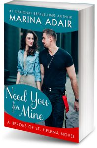 Marina Adair - Need You for Mine giveaway.  Two days left to enter!