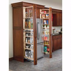 Rev-A-Shelf Tall Filler Pullout Organizer w/Adjustable Shelves (432-TF Series)   Rockler Woodworking and Hardware