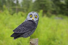Recently, Sheena wrote: I would love you to produce a great grey owl pattern. My daughter had a great grey owl fly up the isle at her wedding land on her husband's arm and deliver their rings. It w...