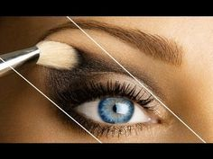 5 great tutorials to teach you how to apply eyeshadow properly...even if you are a beginner Makeup Tricks, Eye Makeup Tips, Beauty Makeup, Diy Beauty, Makeup Tutorials, Makeup Ideas, Eyeshadow Tutorials, Makeup Kit, Simple Eyeshadow Tutorial