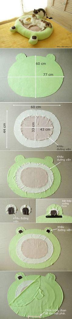 Como coser la cuna para la gata | por las manos // Наталия Винокурова