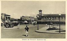 Estación central del ferrocarril, Guatemala
