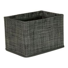 Parker Large Storage Basket In Grey - Store and organize your items in style with the Parker Large Storage Basket. Features an open-weave design and dual handles for easy transport. Neutral tone will easily complement any existing decor.