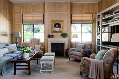 Montecito Home Family Room