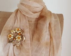 Signed Coro Rhinestone Brooch - 1970 Coro Vintage Rhinestone Flower Pin - Vintage Rhinestone Flower Bouquet Brooch - Vintage Costume Jewelry - Edit Listing - Etsy