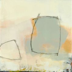 "Sandra Quinn    Linked -- Sandra Quinn 2009, encaustic + oil pastel on panel, 12"" x 12"" www.srquinn.com"