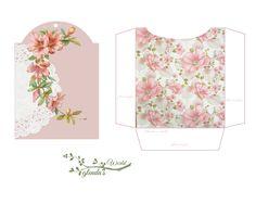 Free Pink Hibiscus Tag-N-Pocket