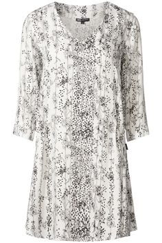 Morning Glow | Fall collection | Black | White | Print | Tunic