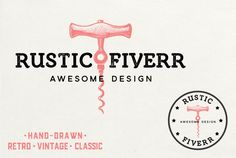 For only $10, great19 will create customized vintage retro hand drawn or…