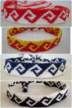 Greek waves bracelets-- profits go towards helping a young boy in the hospital with Leukemia