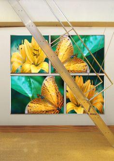 """Ring around the Bamboo""  by tela-design: 4 pieces, free dimensions, free materials such as canvas stretched on a frame, wallpaper, film, glass, metal, ceramic etc. 10 more combinations  under   http://www.tela-design.com/en/design/tela_100.html   ""Ring around the bamboo""  von tela-design: 4-teilig, freie Grössen, viele Materialien, wie z.B. Leinwand auf Keilrahmen, Tapete, Folie, Glas, Metall, Keramik, HPL etc. 10 weitere Kombinationen unter…"