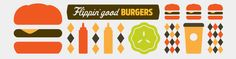 Great example of casual dining on the rise. I love the simplicity of their branding.   Minneapolis Best Burgers | My Burger